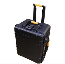 Tool case toolbox Impact resistant sealed waterproof safe empty case 643x505x363mm security tool equipment trolley case