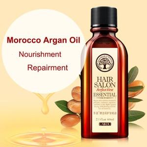 Image 3 - 60Mlโมร็อกโกArgan Oilผลิตภัณฑ์ดูแลเส้นผมEssential Oil Nourish Scalp Repair Dry Damage Hair Treatmentกลีเซอรอลน้ำมันอ่อนนุชHairdressing