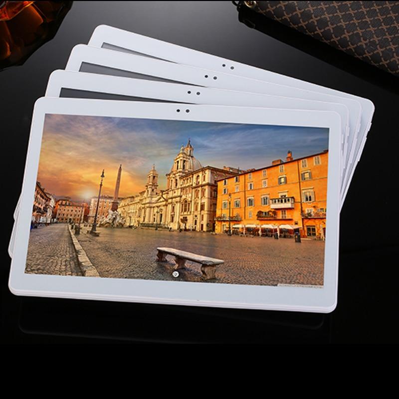 2018 NOUVEAU Octa Core 4G LTE Tablet PC 4 GB RAM 64/128 GB ROM Double Caméras Android 7.0 Tablet 10.1 pouces ordinateurs De Poche
