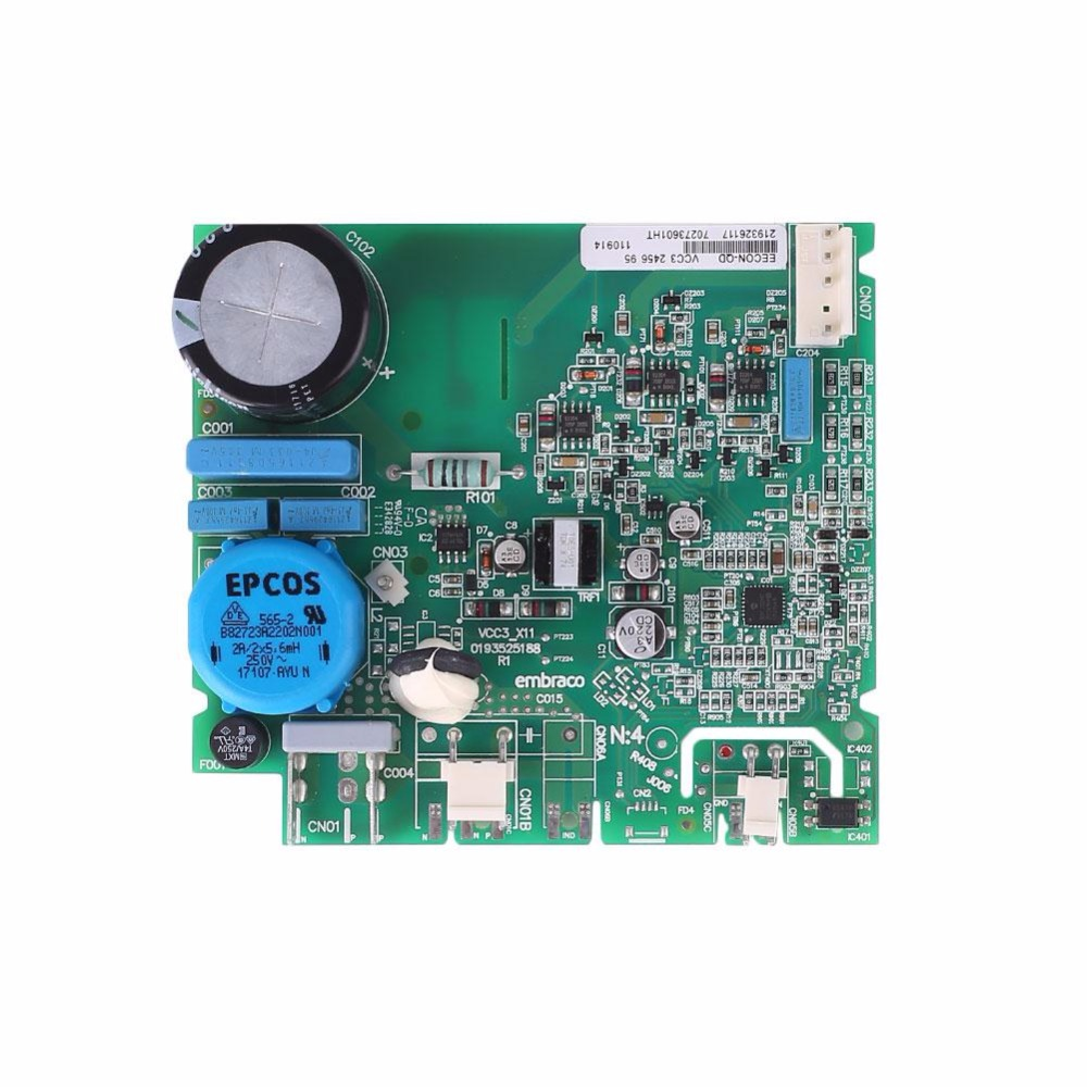 Cewaal New For Haier Refrigerator Freezer Inverter board EECON-QD VCC3 control board pc board Professional Replacement Part Gift good working for refrigerator pc board computer board used eecon qd vcc3 0193525078 frequency conversion board