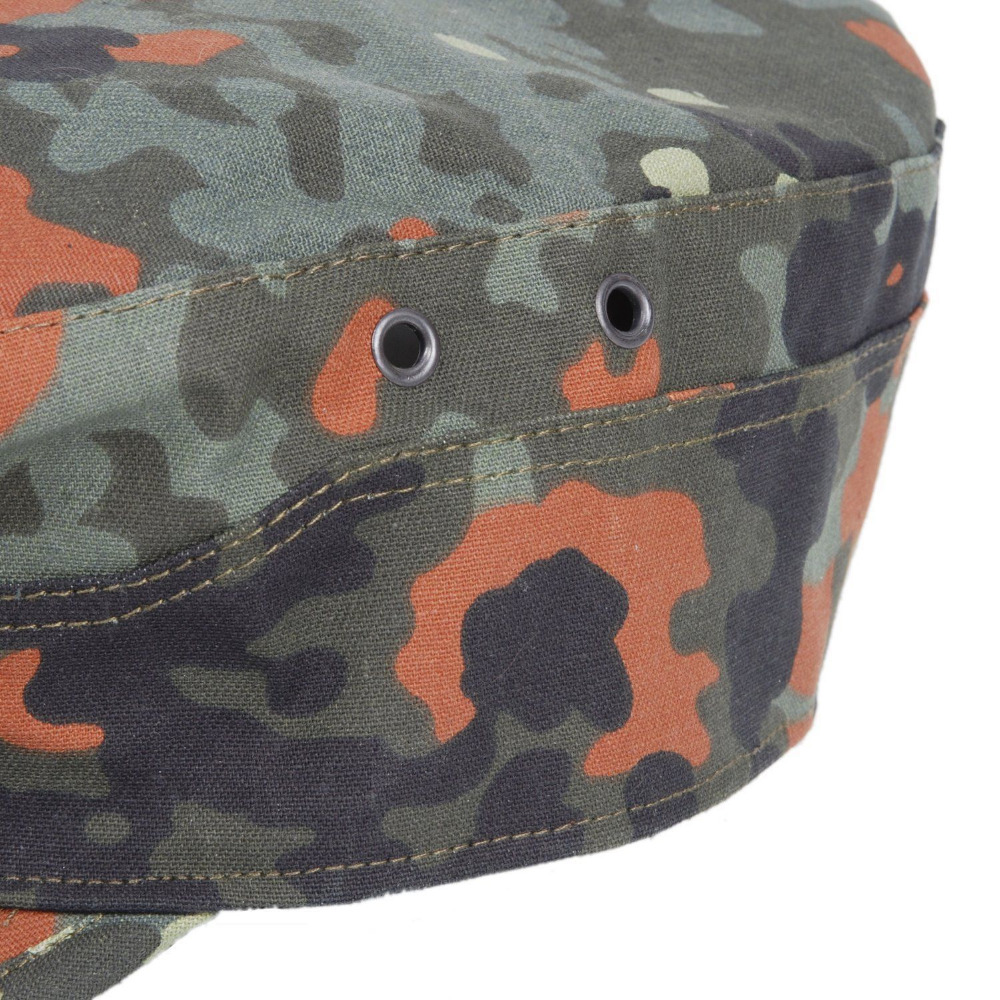 06b9955f7d7 WW2 GERMAN ARMY FLECKTARN CAMO MILITARY CAMOUFLAGE FIELD CAP HAT SIZE 60cm-in  Sports Souvenirs from Sports   Entertainment on Aliexpress.com