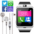 2016 новый Aplus GV18 Smartwatch Bluetooth Smart Watch Для Android IOS Телефон поддержка SIM TF Карты SMS GPRS NFC FM PK DZ09 GT08 U8