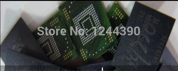 US $30 59 |For Samsung S2 I9220 N7000 eMMC with firmware Programmed NAND  flash memory IC Chip 5pcs/lot-in Integrated Circuits from Electronic