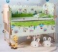 Promoção! 10 PCS berço cama kit cama em torno de berços para bebês berço bumper ( bumper + colchão + travesseiro + edredon )