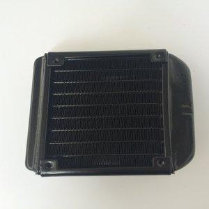Image 5 - 90 millimetri Filettato Bocca Acqua Fila Scambiatore di Calore Del Radiatore di Raffreddamento Del Computer di Raffreddamento del PC Fila Industriale Fila