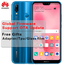 Huawei P20 Lite Global Firmware 4G LTE Smartphone Nova 3e Face ID 5.84 ''Full View Screen 2280*1080P Android 8.0 Glass Body 24MP(China)