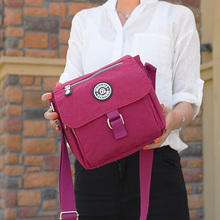 Summer Style Handbag Women Messenger Bags for Women Bag Waterproof Nylon Shoulder Bag 10 Colors Ladies Crossbody Bags sac a main недорого