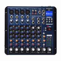 SMR8 Bluetooth Rekord 8 Kanäle (4 Mono + 2 Stereo) 16 DSP USB Professional DJ Mixer