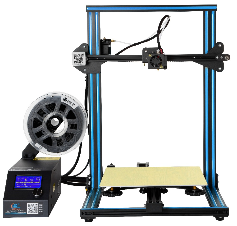 Creality Metal-Frame 3d-Printer CR10/CR10S Nozzle Filament-Monitoring Large Alarm Power-Off-Resume title=