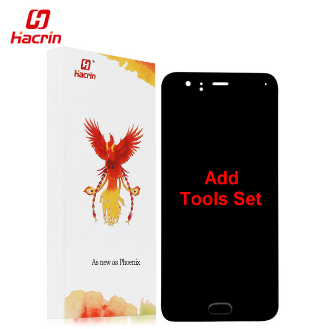 """hacrin Xiaomi Mi6 LCD Display + Touch Screen 100% New FHD 5.1"""" Digitizer Assembly Replacement For Xiaomi MI 6 M6 Mobile Phone"""