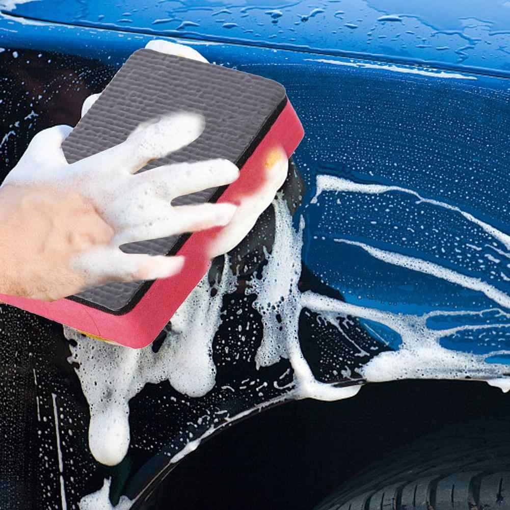 Auto Magic Spons Klei Bar Pad Spons Blok Auto Cleaning Eraser Wax Polish Pad Schoonmaken Tool Wasstraat Spons