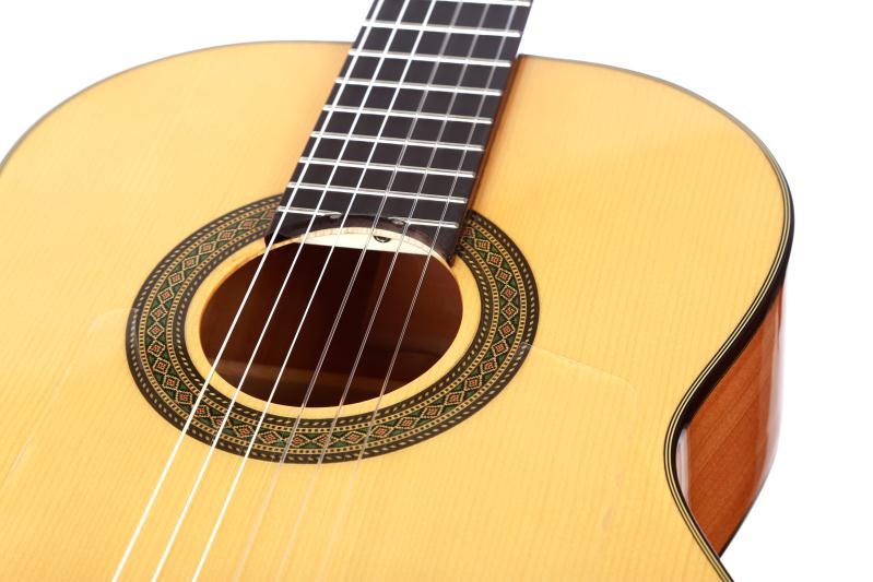Solid Spruce / Aguadze Body + STRINGS, Klassik gitara ilə 39 - Musiqi alətləri - Fotoqrafiya 5