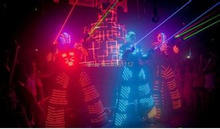 new 2015 LED Costume /LED Clothing/Light suits/ LED Robot suits/ Luminous costume/ trajes de LED