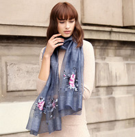 Luxury Brand 2016 Plain Silk Scarf Wool Scarf Silk Scarves Luxury Shawls And Scarves Head Wrap