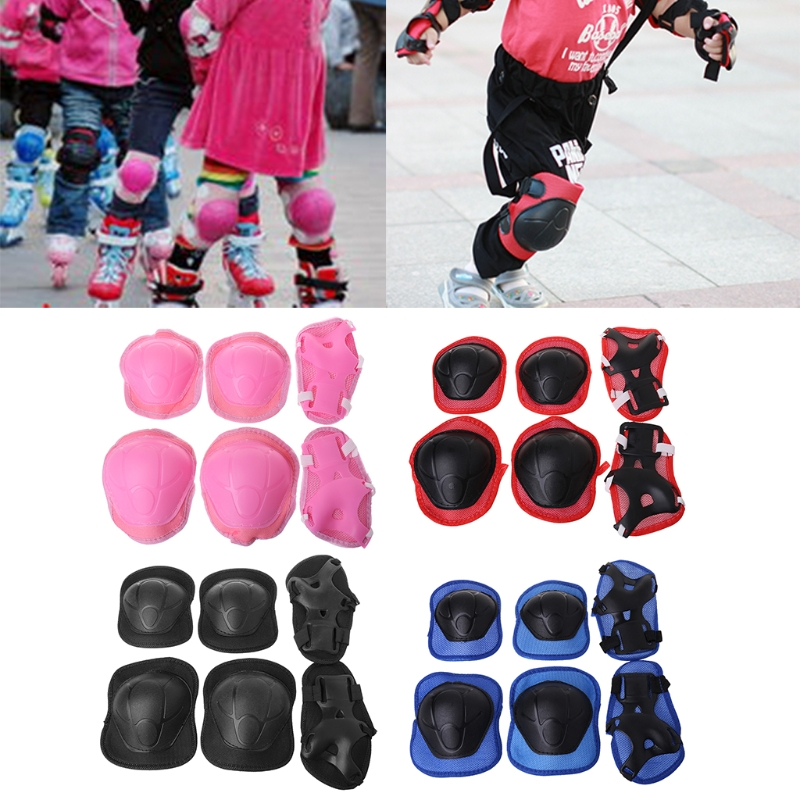 1 Set Kids Knee Sponge Mesh Pads Cycling Skating Protection Elbow Guard Scooter Children Protector 100mm