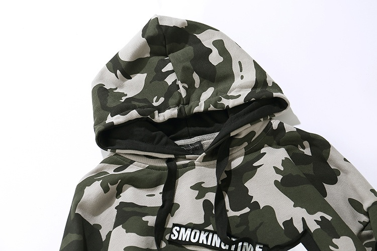 Camouflage Patch Hoodies 3
