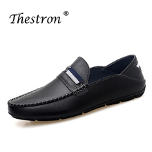 2019 New Trend Young Casual Footwear For Men Comfortable Large Sizes Shoes Non-Slip Slip On Man Designe Loafer