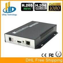 Mejor Venta HEVC H.265/H 265/UDP H265 RTSP RTMP IPTV Codificador de Hardware de Vídeo HDMI H.264 Para IPTV, Emisión De Streaming en vivo