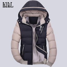 New 2016 Winter Warm Men's Jacket Breathable Thick Coat Windproof Veste Men Cotton-Padded Outwear Softshell Bomber Jacket,UMA270