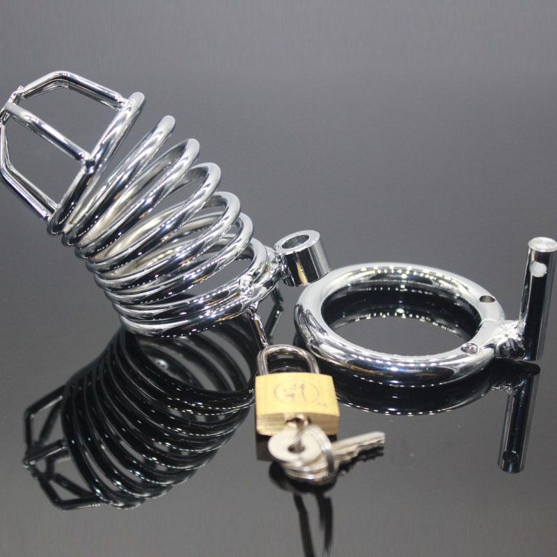 3 size Male Chastity Device Cock Cages Men\'s Virgi...