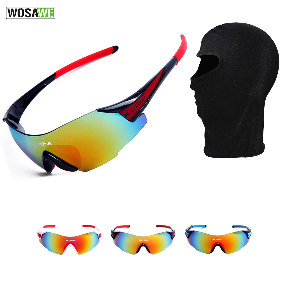 WOSAWE Racing Protection Googles Face Mask Set Motocross Off Road Windproof Eyewear MTB Bicycle Motorcycle Sunglasses ...