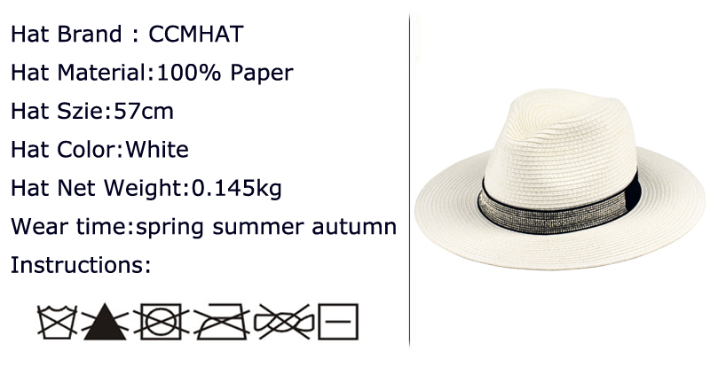 b6eebef1efa84 CCMHAT 2018 Fashion Fedora Hats For Men 1100 Pcs Diamond Accessories ...