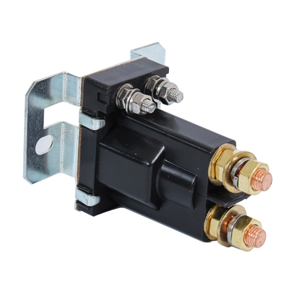 Augstas strāvas stiprums 500A AMP 12V 24V 4 kontaktu ieslēgšanas / - Auto rezerves daļas - Foto 2