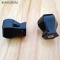 10pcs Black Kitchen Cabinet Drawer Knobs Solid Black Acrylic Knob Woden Shoes Box Handles Furniture Cupboard Dresser Pulls