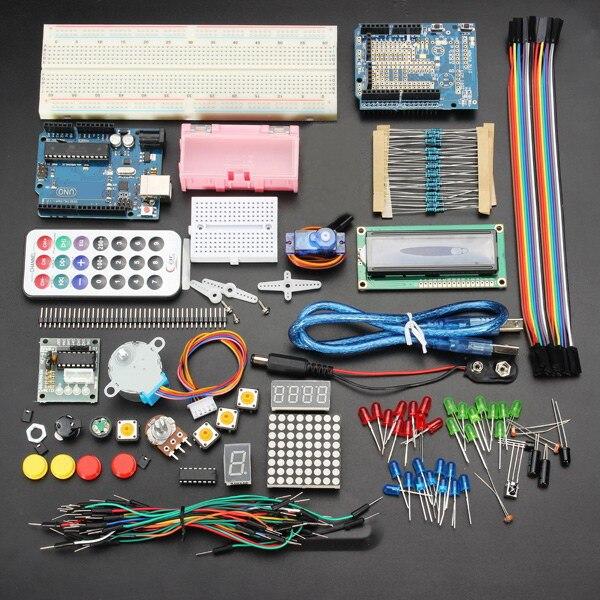 Новое поступление новая Электроника UNO R3 основные стартер обучения комплект без Батарея версия для Arduino