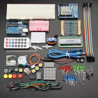 New Arrival New Electronics UNO R3 Basic Starter Learning Kit No Battery Version For Arduino