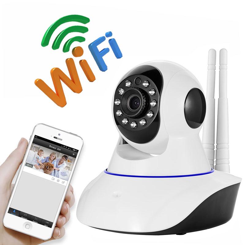 2MP HD 1080P PTZ Wifi IP Camera IR-Cut Night Vision Two Way Audio CCTV Surveillance Smart Camera SD Card View Yoosee APP