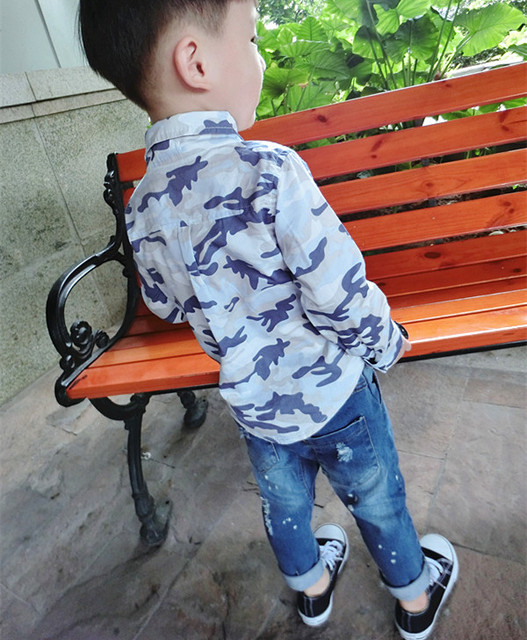 Fashion Baby boys girls ripped  jeans paint hole kids big pp pants for boys Distrressed skinny haren pants toddler jeans