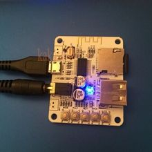 2pcs Bluetooth Audio Receiver USB TF Card MP3 WMA FLAC Decoding player Preamp Output