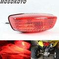 Filaments lampes 12 V/25 W feux arrière frein Stop lumière rouge lampe pour Suzuki QuadSport Z250 LTF400 2002 2014 Kawasaki KFX400 KSF   -