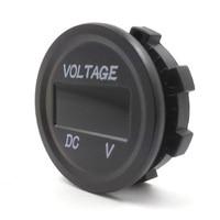 2019 Led Display Waterdicht Motorfiets Voltmeter Gauge Voltage Meter Led Digitale Voltmeter Voor Motorfiets Auto Dc 12V-24V