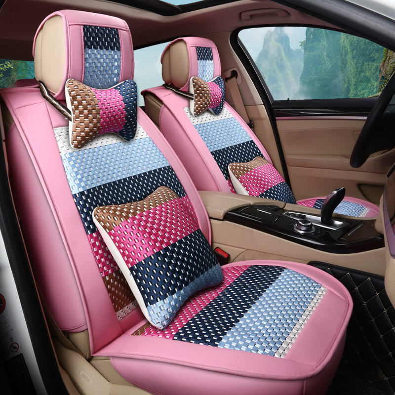 New 5Seats Car Seat Covers For Audi BMW Toyota Honda CRV SUV Ford Accessories Styling