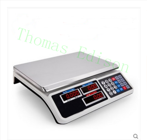 New 30kg electronic pricing scales electronic scales weighing scales of fruit mb barbell mbevkl 15кг