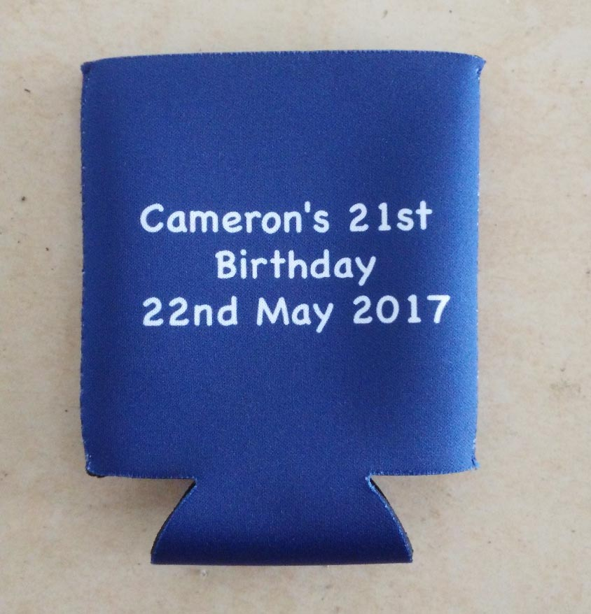 50pcs lot Promotional Custom Printed Stubby Holders Can Coolers for Dye Sublimation Printing For Food Wine