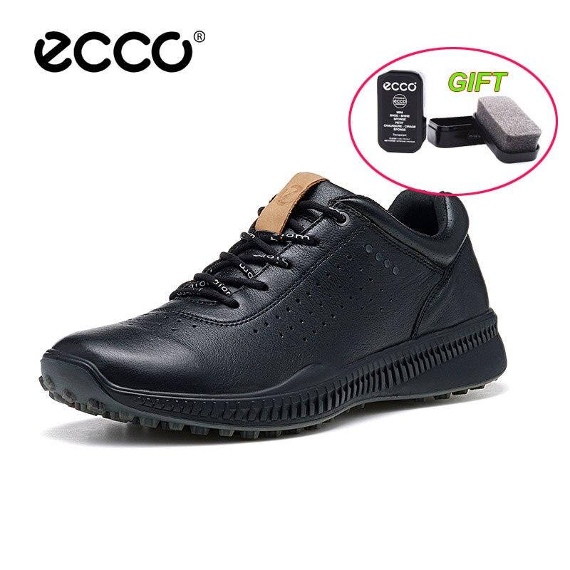 Véritable ECCO cuir hommes Chaussures décontractées marque de luxe automne hommes à lacets Chaussures respirantes hiver Zapatos nouveauté