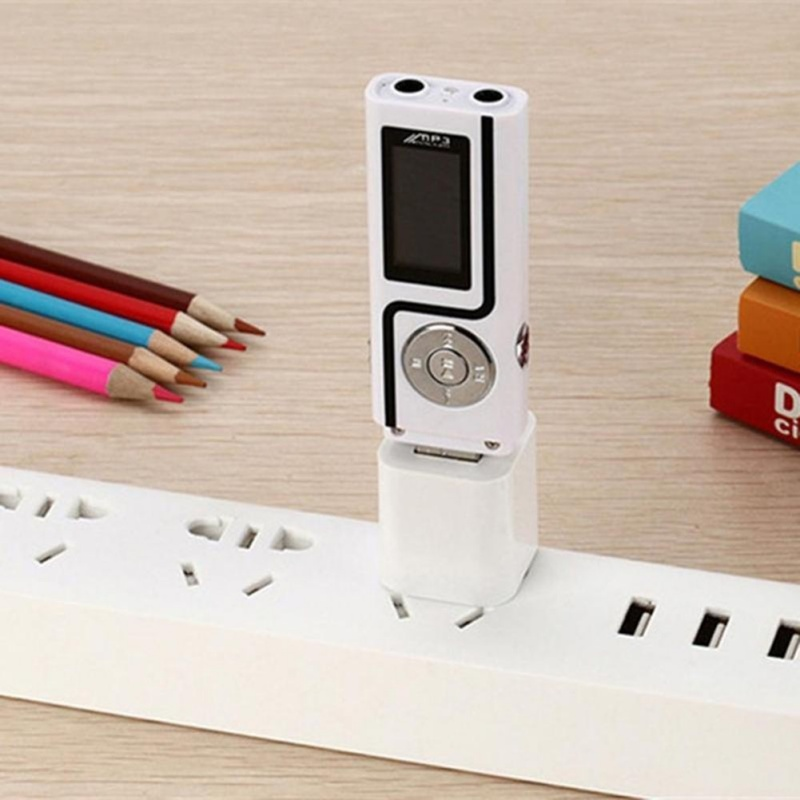 Portable Mini Usb Music Player Flash Memory Storage Pure Audio Touch Tones Mp3