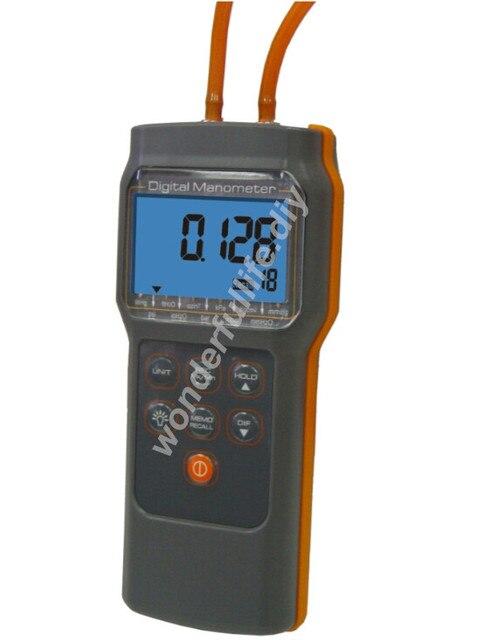 Digital Manometer High Performance Pocket Size AZ82152 15 Psi Economic Pressure Gauge Differential Pressure Meter Tester