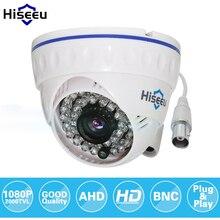 Hiseeu ahdh 1080 P Семья мини купол безопасности аналоговые CCTV Камера Крытый ИК Ночное видение Plug and Play Бесплатная доставка AHCR512