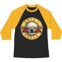 New Rock Band Guns N Roses Women's Raglan Long Sleeve T Shirt 2017 New Spring Autumn New Arrival Ladies tShirt Fashion Tops