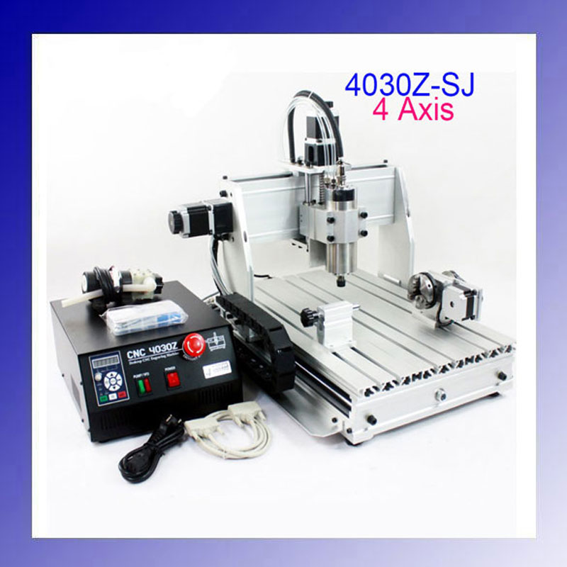 New Product CNC Engraver Engraving Cutting Machine CNC 4030 Ball Screw diy cnc 3060 engraving machine 400w wood milling router 6030 ball screw cutting engraver lathe frame