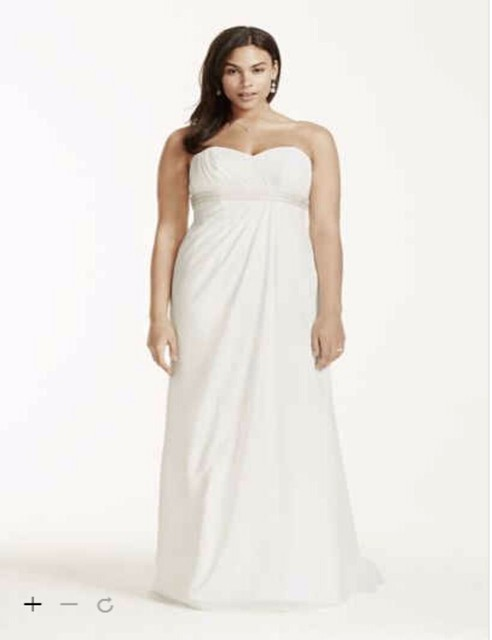 defe907303 US $169.0 |Aliexpress.com : Buy Custom Made 2016 New Free Shipping A line  Plus Size Wedding Dress with Dropped Waist Style 9OP1238 Wedding Dresses ...
