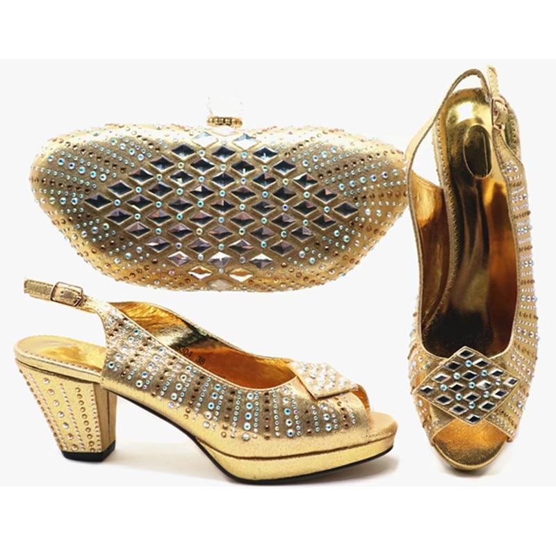 Lujo Diseñadores Negro Mujer Y vino De Italiano Llegada Las verde Mujeres fuchsia Boda Nueva Zapato oro Bolso En Fiesta Bolsa Zapatos Tinto Rv48Pwwxqa