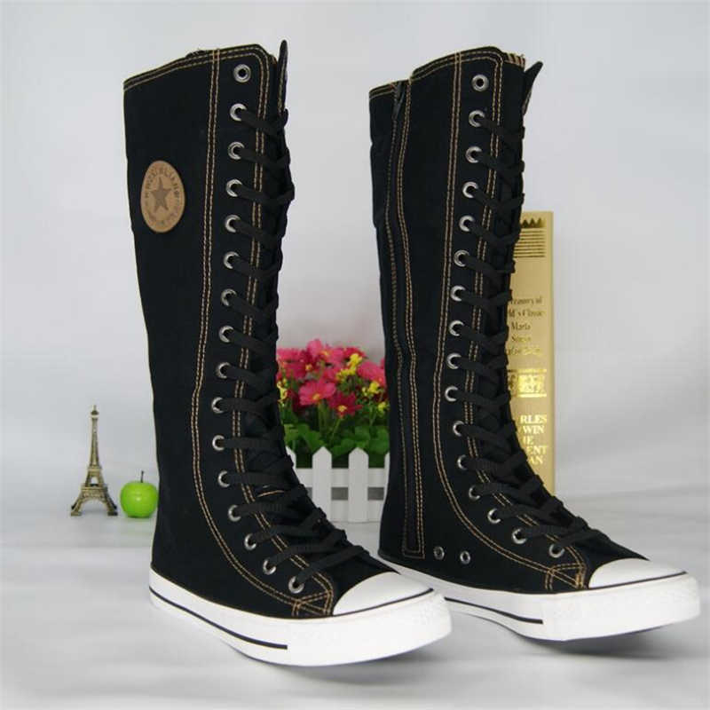 Women High Top Casual Canvas Shoes