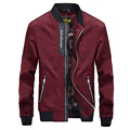 Autumn/winter 2017 new men's jacket Leisure jacket collar printing