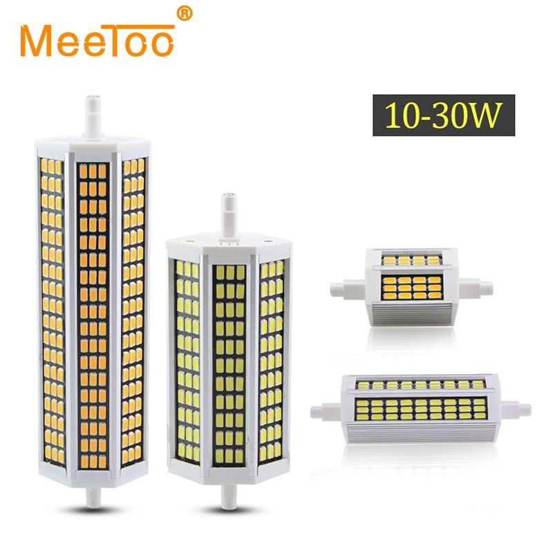R7S Lampada LED 78mm 118mm LED R7S 135mm 189mm LED Lampadina 10 W 20 W 25