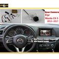 Copia de seguridad de Cámara de Marcha Atrás Para Mazda CX-5 CX5 CX 5 2015 2016 2017 RCA y Original Pantalla Compatible de Visión Trasera de Aparcamiento cámara